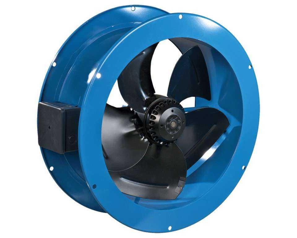 Axiál cső ventillátor