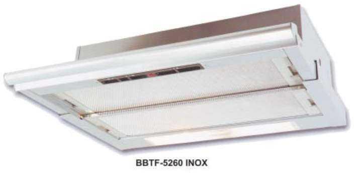 Konyhai páraelszívó BBTF-5260 inox hatású