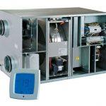 Vents VUT R EH EC és VUT R WH EC forgódobos hővisszanyerő berendezés