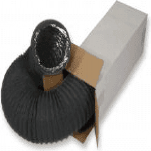 COMBIFLEX N BLACK teljesen flexibilis 4-rétegű alumínium / poliészter légcsatorna