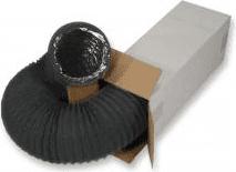 SIG COMBIFLEX N BLACK teljesen flexibilis 4-rétegű alumínium-poliészter légcsatorna