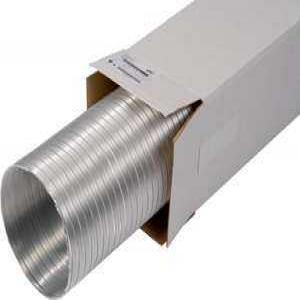 SIG SEMIFLEX félmerev, 1 rétegű alumínium ötvözetű légcsatorna
