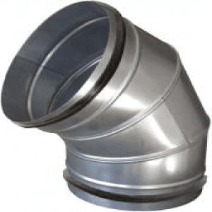 SIG BDSG 60 Fokos légcsatorna könyök elem