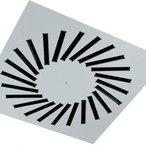 SIG VWR-3A (RAL9016) Perdületes mennyezeti anemosztát