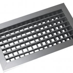 SIG AHVN Kétsoros alumínium fali rács