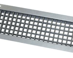 SIG SHVN GALVA Kétsoros acél fali rács