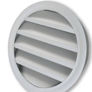 SIG BLR-GD (RAL9016) Kör keresztmetszetű alumínium esővédő zsalu