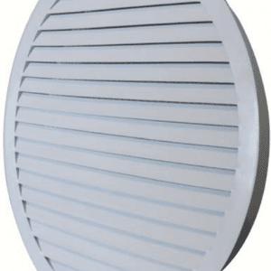 SIG BLR-K25 (RAL9016) Kör keresztmetszetű acél esővédő zsalu