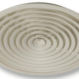 SIG PRN (RAL9016) Koncentrikus körös mennyezeti anemosztát