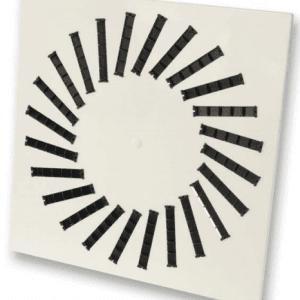 SIG VWR-3B (RAL 9016) Perdületes mennyezeti anemosztát