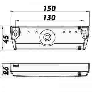 DALAP Kiegészítő elektronika(BU-1-60, méretrajz)