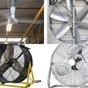 Csarnok szellőztető ventilátor