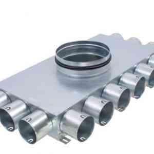 Lapos osztó doboz(KL12X75, termékkép)