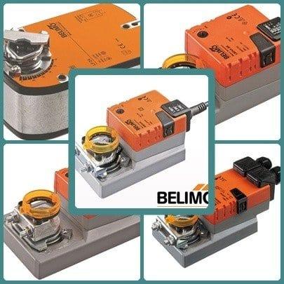 Légtechnikához motorok( Belimo, montázskép)