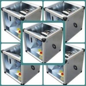 Hangcsillapított légcsatorna ventilátor