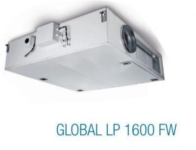 aereco hővisszanyerős szellőztető(global lp 1600 fw, termékkép)