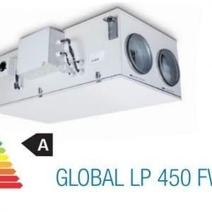aereco hővisszanyerős szellőztető(global lp 450 fw, termékkép)