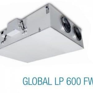 aereco hővisszanyerős szellőztető(global lp 600 fw, termékkép)