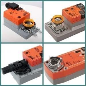 Belimo víz és fűtéstechnikához alkalmazható motorok és kiegészítők