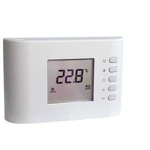 CRF 07 prog. elektronikus fan-coil termosztát (termékkép)