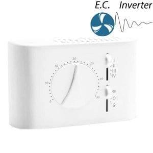 CRF 83 prog. elektronikus 0-10V fan-coil termosztát (termékkép)