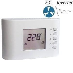 CRF 85 prog. elektronikus 0-10V fan-coil termosztát (termékkép)