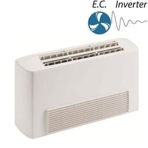 FXE-VB horizontális beszívású 2 csöves berendezések EC motorral