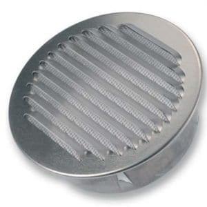 SIG BLR-0-R Kör keresztmetszetű esővédő rács alumíniumból