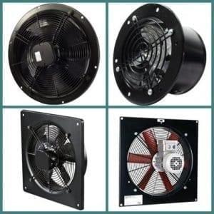 Axiál fali ventilátor