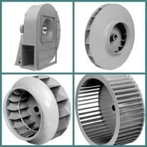 Egy-oldalon szívó ventilátor