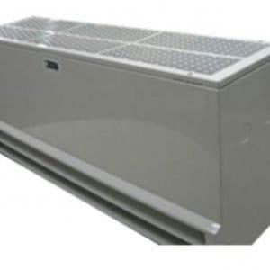fisher melegvizes hőcserélős légfüggöny termékkép